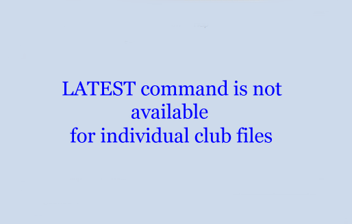 LATEST command is not available for individual club files